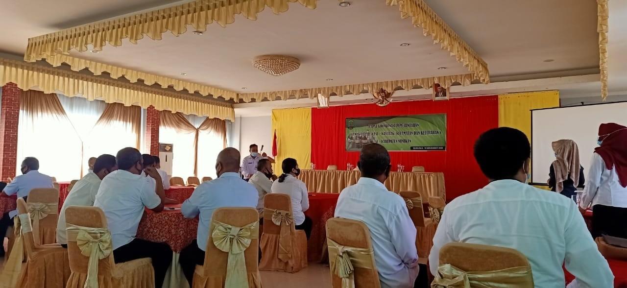 BKPSDM pada Rakor Pemerintahan se- Kabupaten Nunukan.